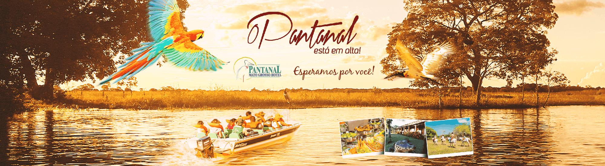Alta temporada – Pantanal Mato Grosso Hotel
